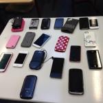 Ein Klassensatz Handys